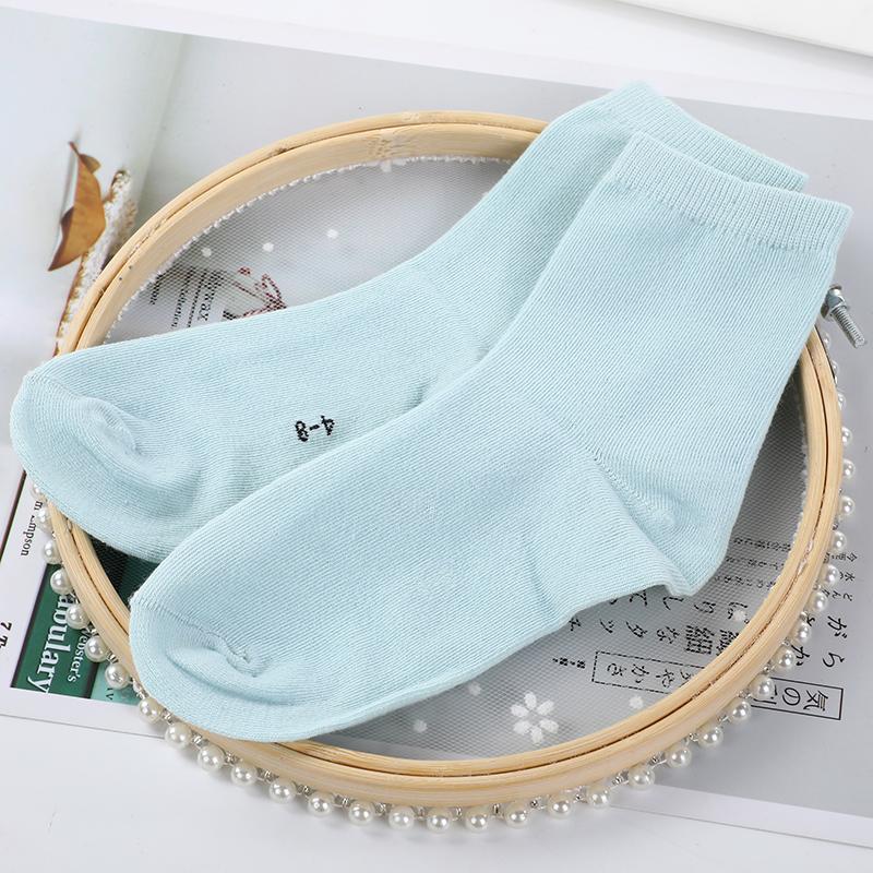 儿童糖果色童袜 4-12岁 地摊10元3双袜子